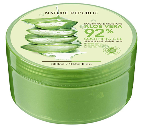 Nature Republic Aloe Vera Gel-Корейские Средства По Уходу За Кожей