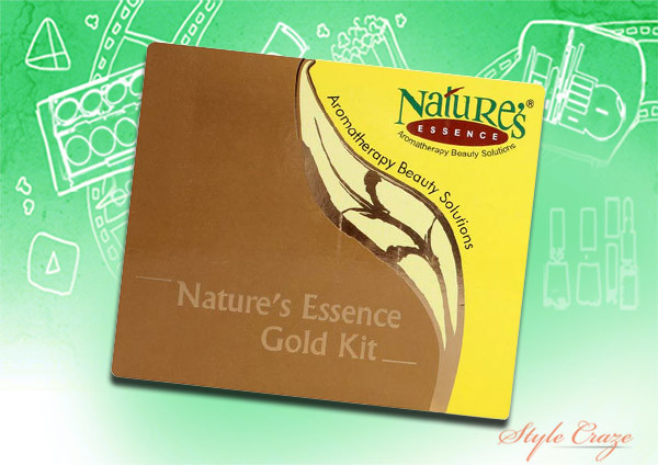 nature's essence gold facial kit