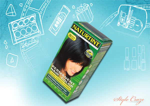 Naturtint Hair Color 2N Brown Black