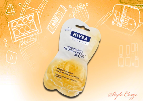 Nivea Nourishing Honey Mask
