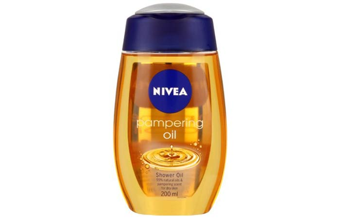 Nivea Pampering Oil - Nivea Skin Care Products