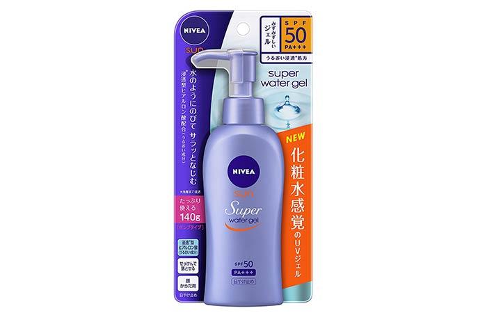 Nivea Sun Super Water Gel - Nivea Skin Care Products