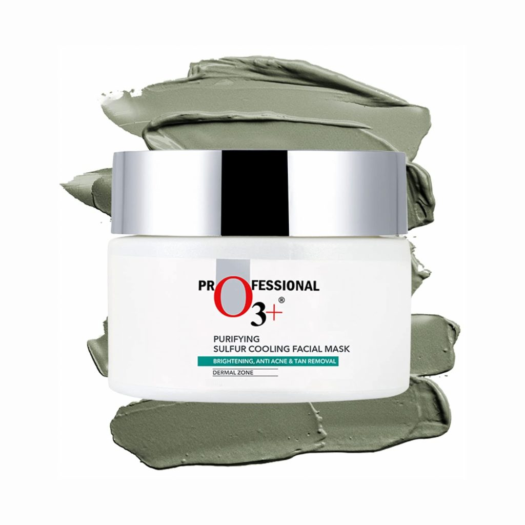 O3+ Sulfur Cooling Facial Mask