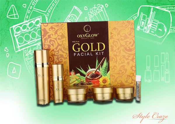 oxy glow gold facial kit
