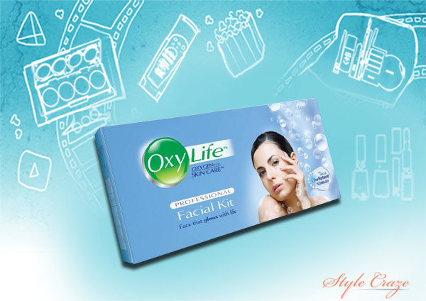 oxylife professional facial kit
