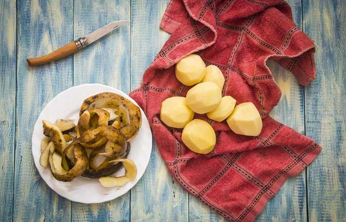 How To Get Rid Of Sunburn Blisters - Potato Peel