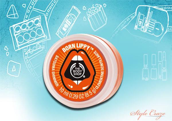 priyanka chopra's the body shop born lippy lip balms