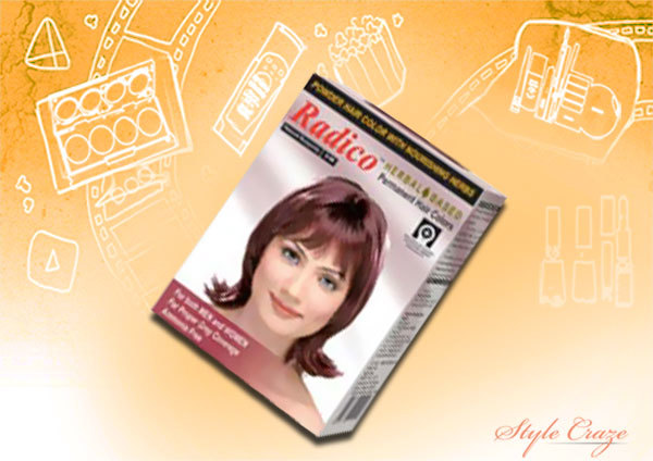 Ammonia Free Hair Colors - Radico Herbal Hair Color