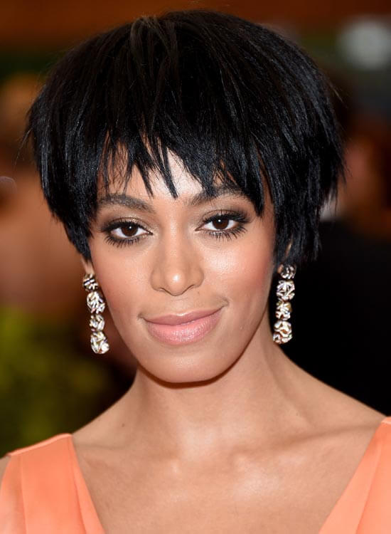 Reverse Stacked Bob With Uneven Front Fringes: