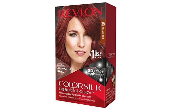 Revlon ColorSilk Beautiful Color – 35 Vibrant Red
