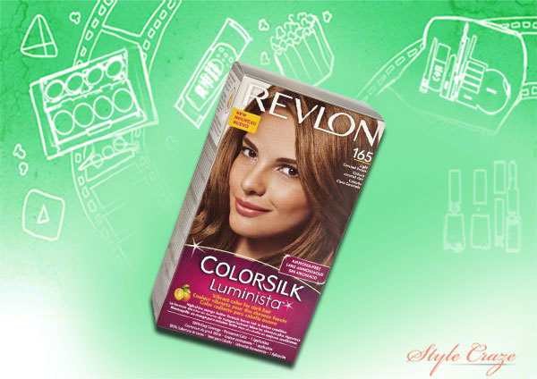 revlon colorsilk luminista shade no. 165 light caramel brown
