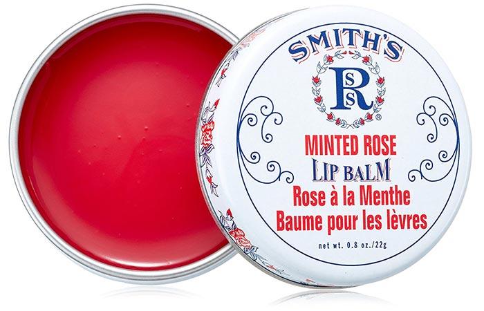 Лучшие Бальзамы Для Губ-Rosebud Perfume Co. Smith's мятный розовый бальзам для губ
