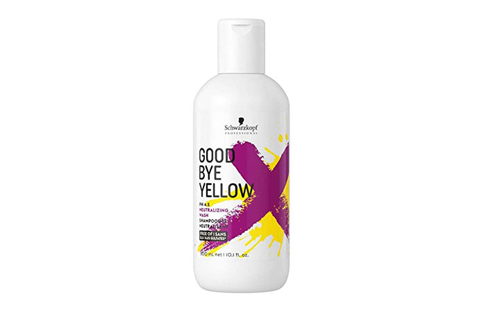 Schwarzkopf Professional Goodbye Yellow Neutralising Shampoo