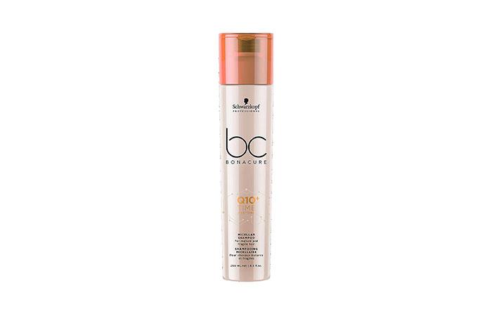 Schwarzkopf Professional Q10 Time Restore Micellar Shampoo