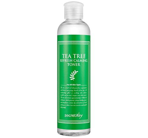 Секретный Ключ Чайное Дерево Освежает Успокаивающий Тонер-Корейские Продукты По Уходу За Кожей