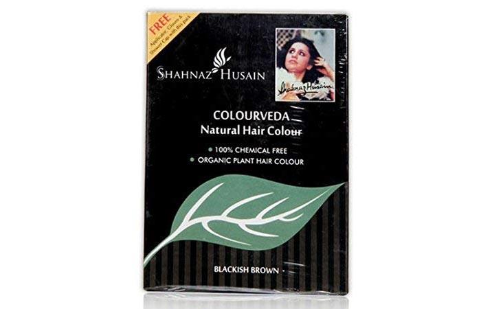 Shahnaz Husain Colourveda Natural Hair Colour