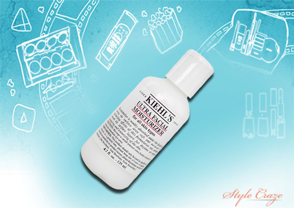 shilpa shetty's kiehl's ultra facial moisturizer for all skin types
