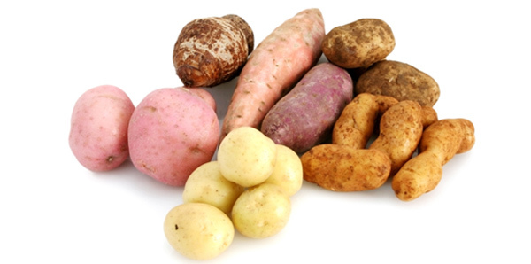 starchy vegetables
