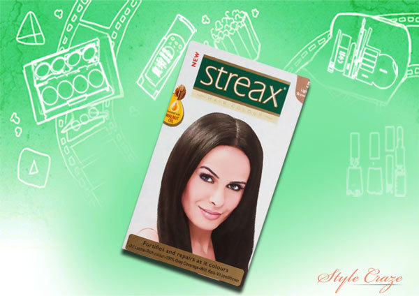 streax hair color shade no.5.4 copper light brown