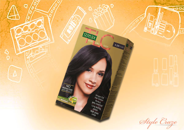 Streax TLC Hair Color Plum