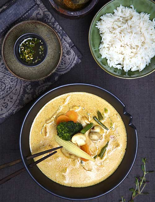 The Jungle Thai Curry With Galangal And Mushroom