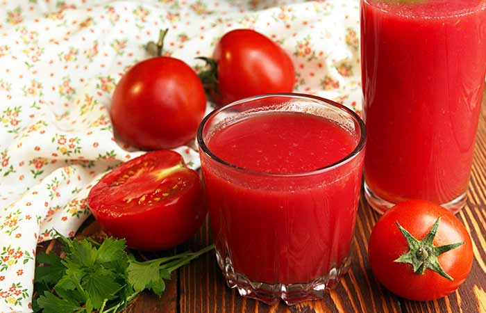 How To Get Rid Of Sunburn Blisters - Tomato