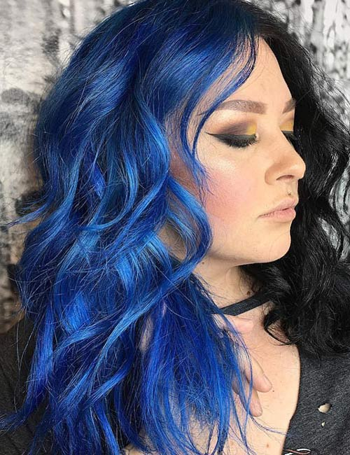 Top 10 blue hair color products 2018 true blue pinit solutioingenieria Images
