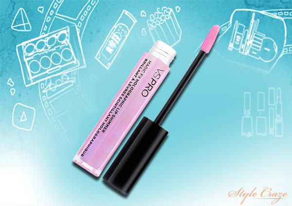 vs makeup vs pro magic fx holographic lip shimmer