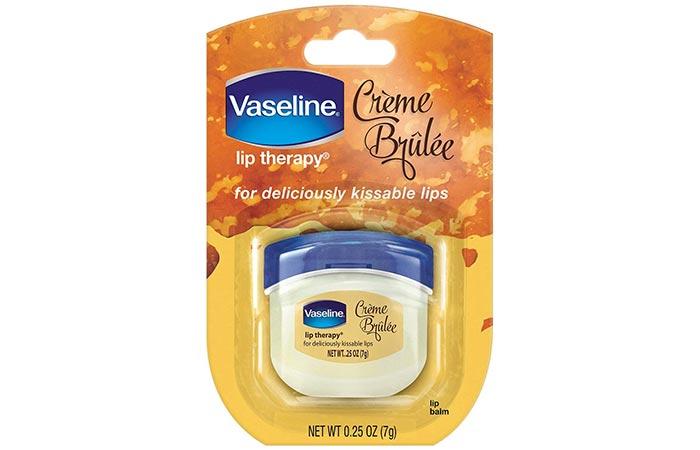 Best Lip Balms - Vaseline Creme Brulee Lip Therapy