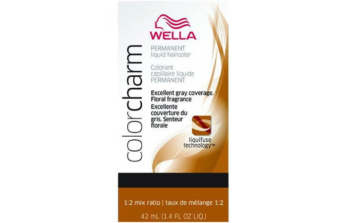 Wella Color Charm Permanent Liquid Haircolor – Caramel