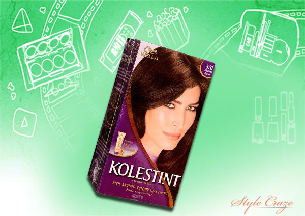 wella kolestint shade 50 medium brown
