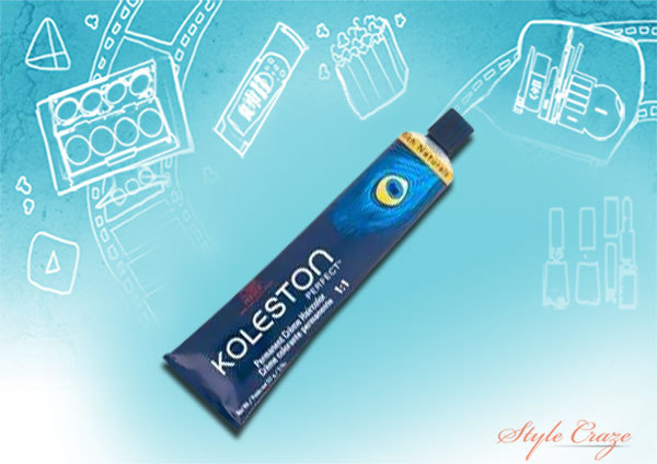 wella koleston 028 blue green