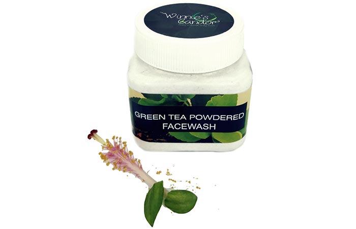 Winnie's Candor Green Tea Powdered Facewash