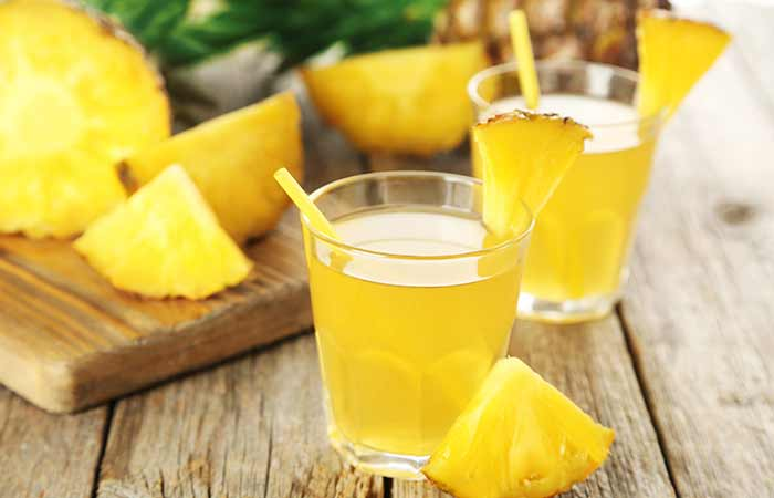 (a) Pineapple Juice For Laryngitis