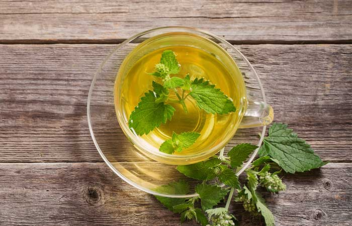 a. Peppermint Tea