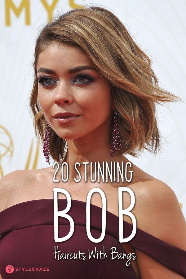 20 Stunning Bob Haircuts With Bangs