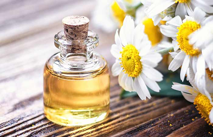 how to stop hair breakage - Chamomile Essential Oil
