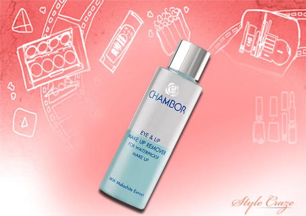 Best Waterproof Eye Makeup Removers In India - 3. Chambor Eye and Lip Waterproof Makeup Remover Review – HG Mater