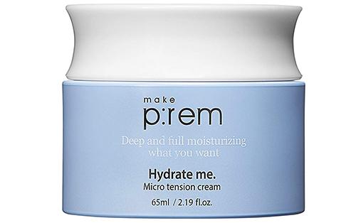 Make P:rem Hydrate Me Micro tension Cream-корейские средства по уходу за кожей