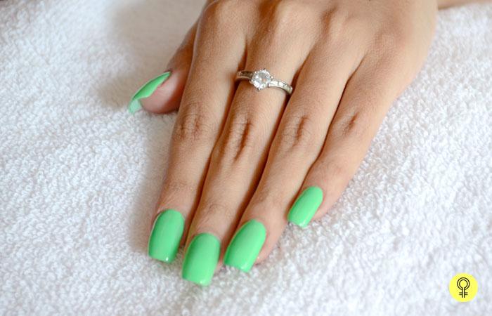 thin nail art brush