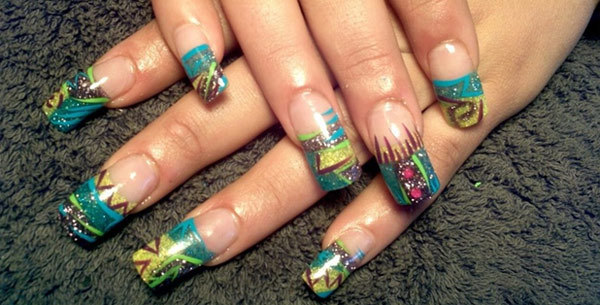 10 amazing hand painted nail art designs design 3 prinsesfo Gallery