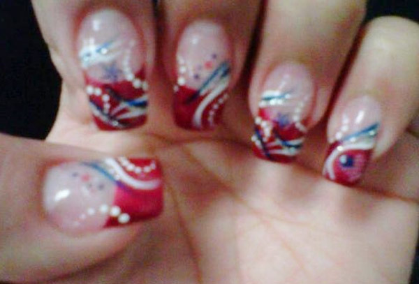 10 amazing hand painted nail art designs design 2 prinsesfo Gallery