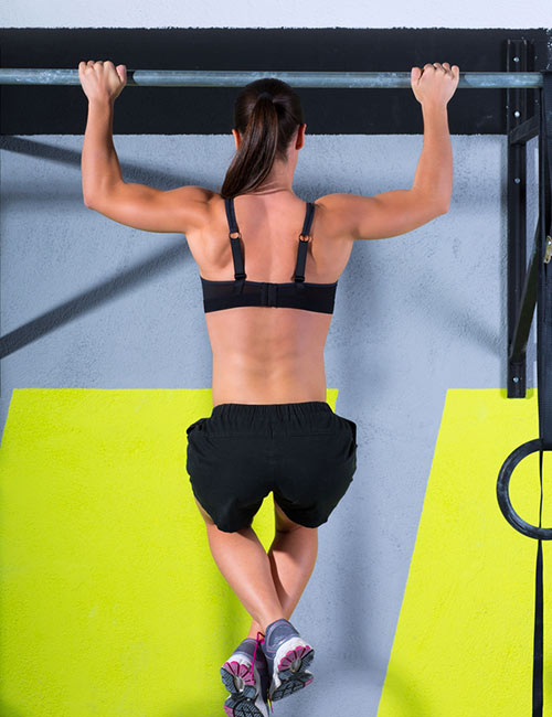 Pull-Up Exercises For Women - Kipping Pull-Up