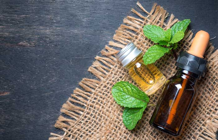 1. Peppermint Essential Oil