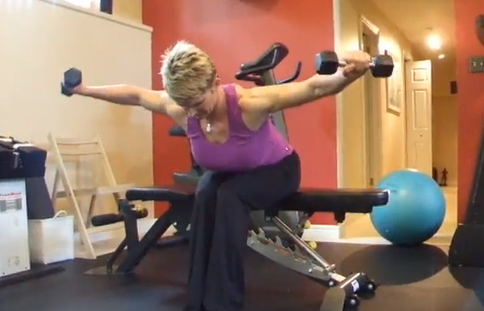Seated Row Exercise - Seated Dumbbell Row