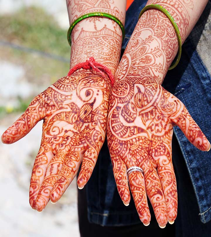 10 Amazing Bombay Style Mehndi Designs To Try In 2019