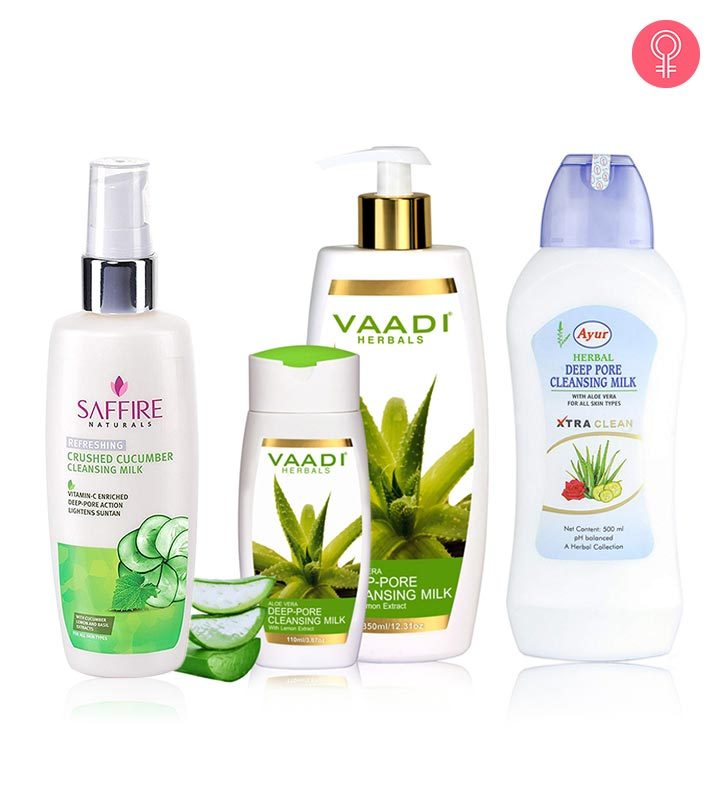 10 Best Cleansing Milk Products For Oily Skin - 2019