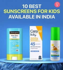 10 Best Sunscreens For Kids Available In India