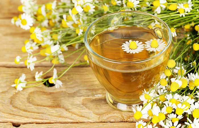 Home Remedies To Get Rid Of Indigestion - Chamomile Tea