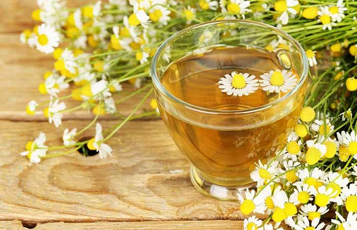 10. Chamomile Tea
